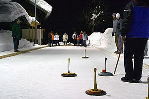 Curling in St. Martin